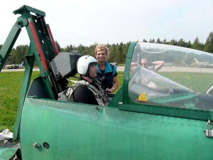 Ejector Seat Training